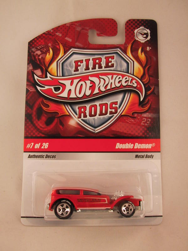 Hot Wheels Fire Rods, #07 Double Demon