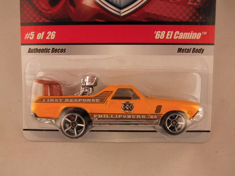 Hot Wheels Fire Rods, #05 '68 El Camino