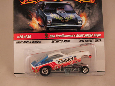 Hot Wheels Drag Strip Demons 2009, Don Prudhomme's Army Snake Vega
