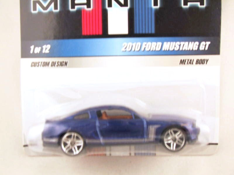 Hot Wheels Mustang Mania, #01 2010 Ford Mustang GT