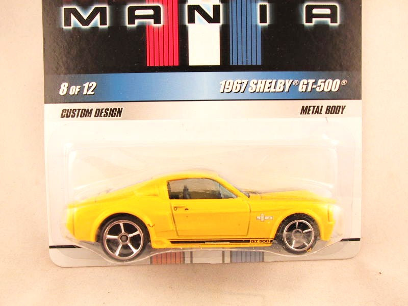 Hot Wheels Mustang Mania, #08 1967 Ford Shelby GT-500