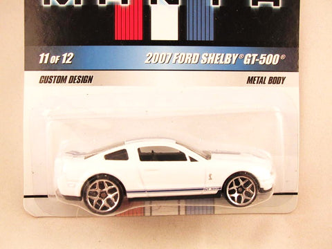 Hot Wheels Mustang Mania, #11 2007 Ford Shelby GT-500