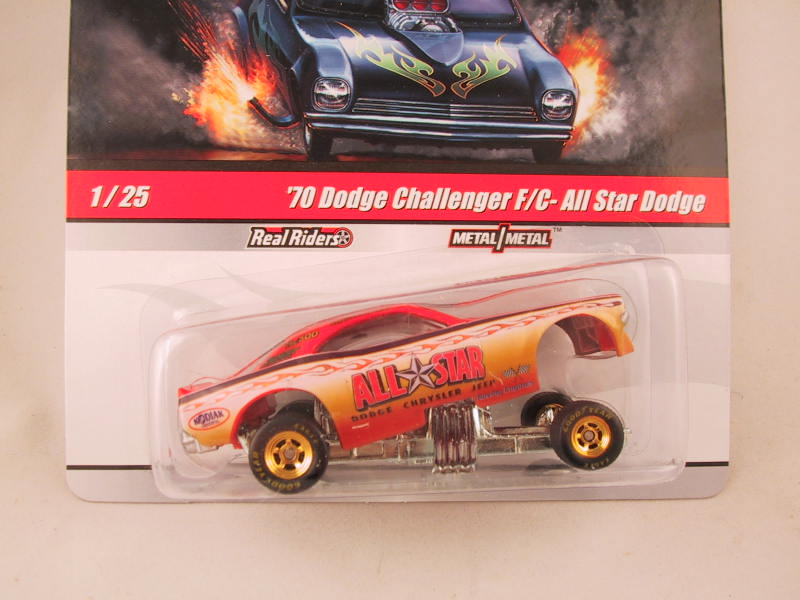 Hot Wheels Drag Strip Demons 2010, '70 Dodge Challenger F/C - All Star Dodge