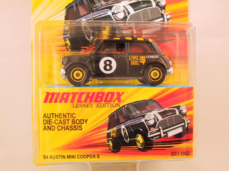 Matchbox Lesney Edition, '64 Austin Mini Cooper S