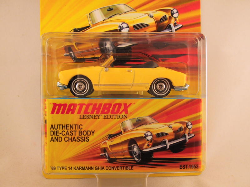 Matchbox Lesney Edition, '69 Type 14 Kermann Ghia Convertible