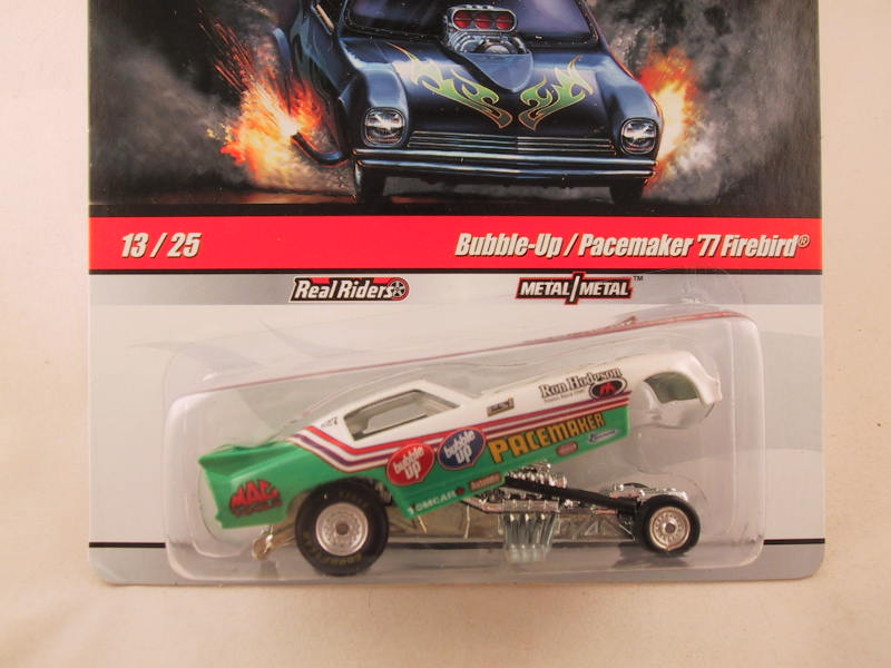 Hot Wheels Drag Strip Demons 2010, Bubble-Up / Pacemaker '77 Firebird