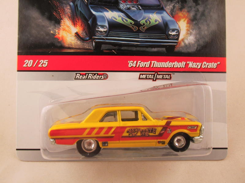 "Hot Wheels Drag Strip Demons 2010, '64 Ford Thunderbolt ""Nazy Crate"""