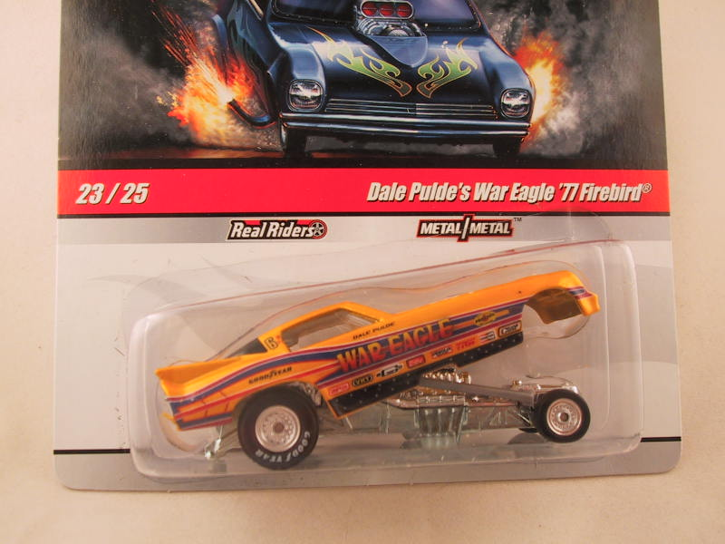 Hot Wheels Drag Strip Demons 2010, Dale Pulde's War Eagle '77 Firebird