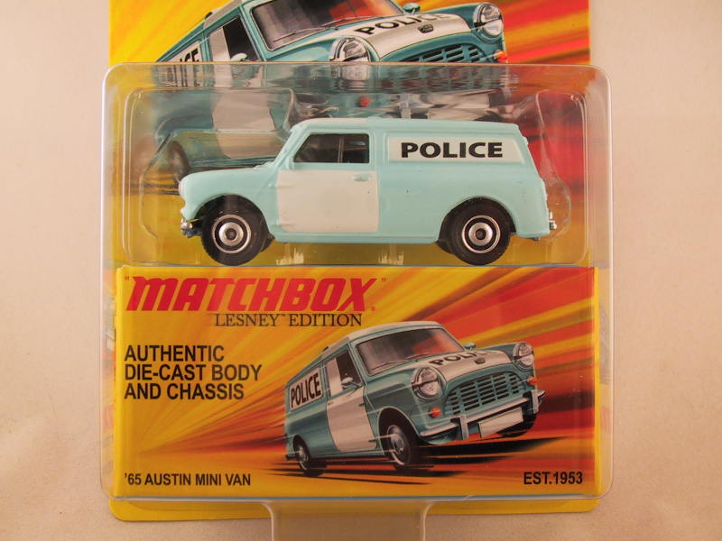 Matchbox Lesney Edition, '65 Austin Mini Van
