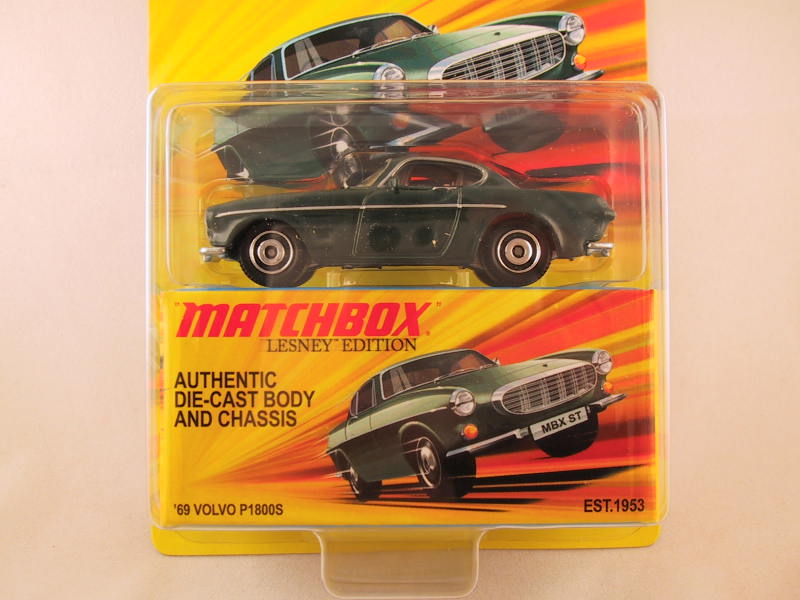 Matchbox Lesney Edition, '69 Volvo P1800S