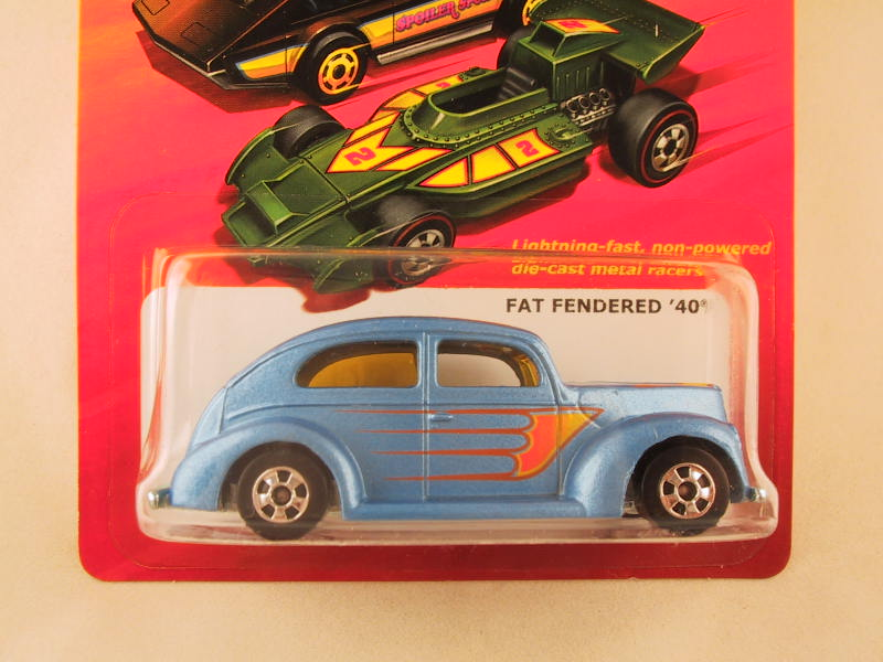 Hot Wheels Hot Ones Fat Fendered '40