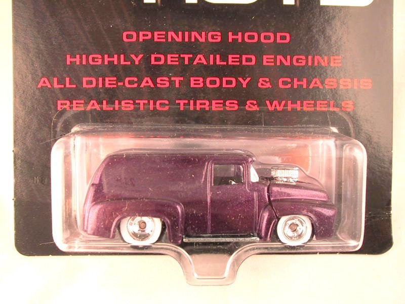 Hot Wheels Ultra Hots, '56 Ford Panel, Purple