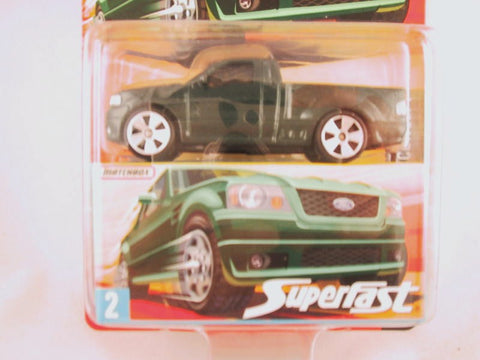 Matchbox Superfast 2006-2007, #02 SVT Lightning Concept, Green
