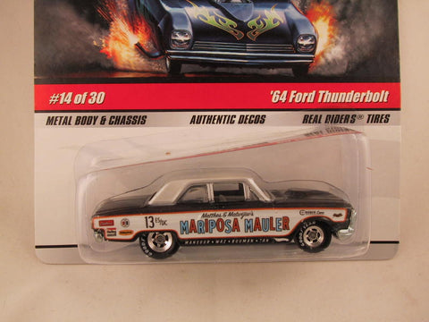 Hot Wheels Drag Strip Demons 2009, '64 Ford Thunderbolt