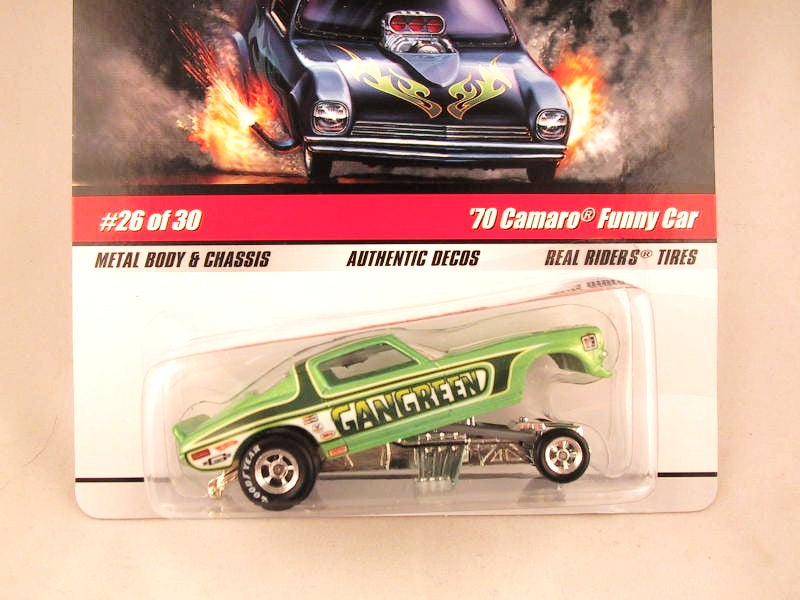 Hot Wheels Drag Strip Demons 2009, '70 Camaro Funny Car