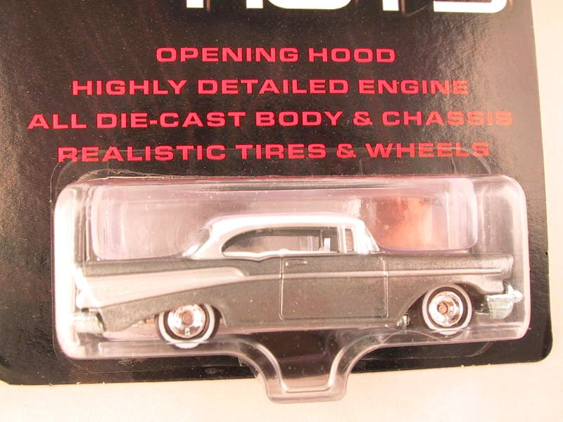 Hot Wheels Ultra Hots, Chevy Bel Air, Silver