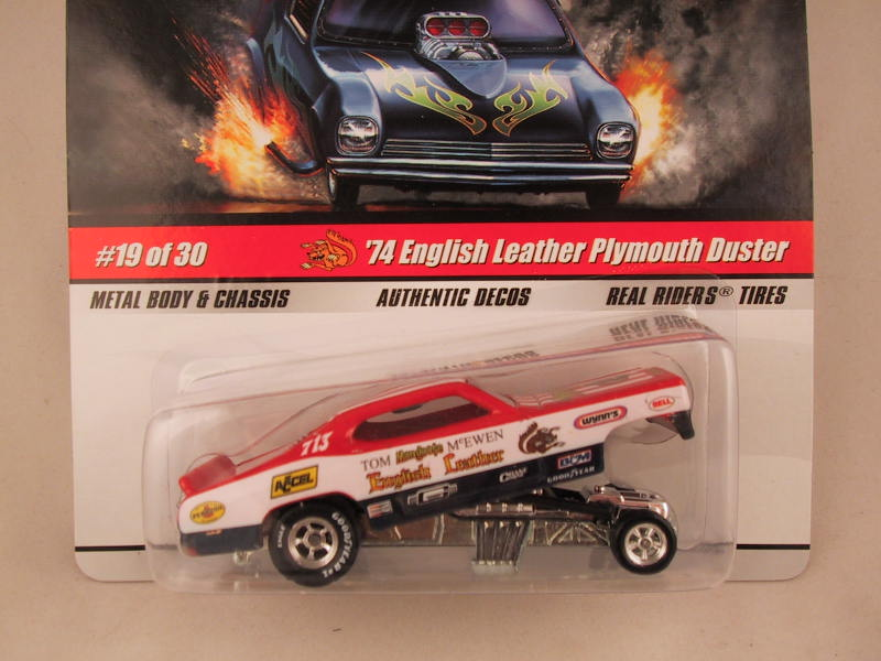 Hot Wheels Drag Strip Demons 2009, '74 English Leather Plymouth Duster