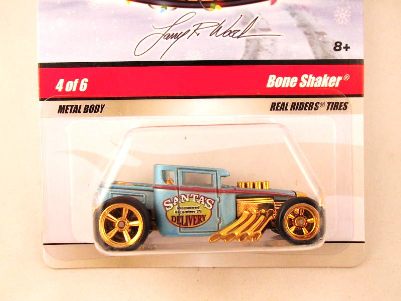 Hot Wheels Larry's Garage 2009, Bone Shaker, Blue, Holiday