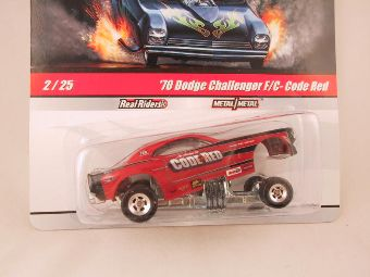 Hot Wheels Drag Strip Demons 2010, '70 Dodge Challenger F/C - Code Red