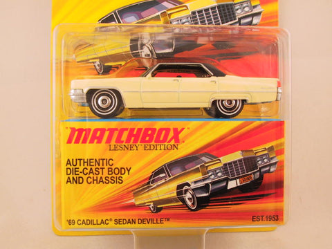 Matchbox Lesney Edition, '69 Cadillac Sedan Deville