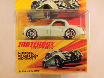 Matchbox Lesney Edition, '54 Jaguar XK 120SE