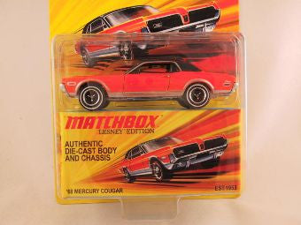 Matchbox Lesney Edition, '68 Mercury Cougar
