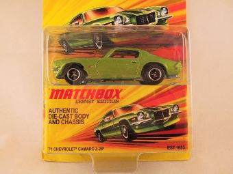 Matchbox Lesney Edition, '71 Chevrolet Camaro Z-28