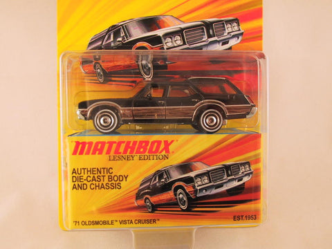 Matchbox Lesney Edition, '71 Oldsmobile Vista Cruiser