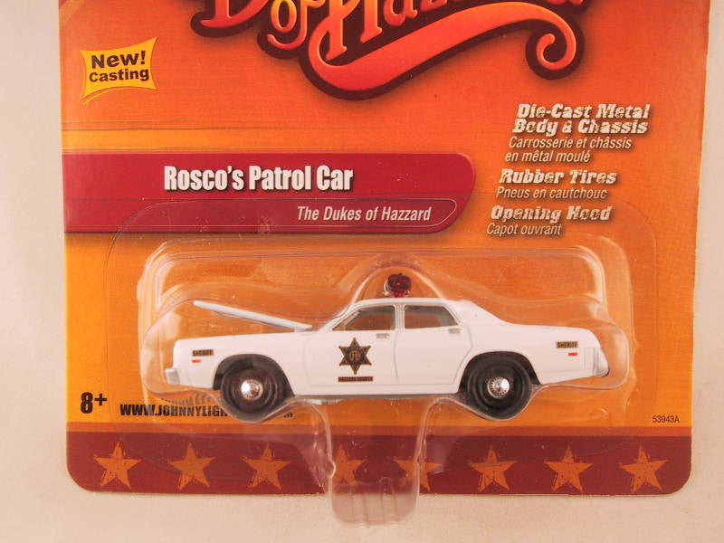 Johnny Lightning 2.0, Release 02, Rosco's Patrol Car