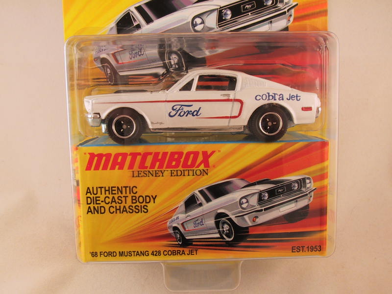 Matchbox Lesney Edition, '68 Ford Mustang 428 Cobra Jet
