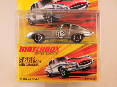 Matchbox Lesney Edition, '61 Jaguar E-type