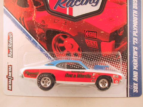 Hot Wheels Vintage Racing, Sox and Martin's '73 Plymouth Duster