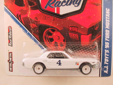Hot Wheels Vintage Racing, A.J. Foyt's '65 Ford Mustang