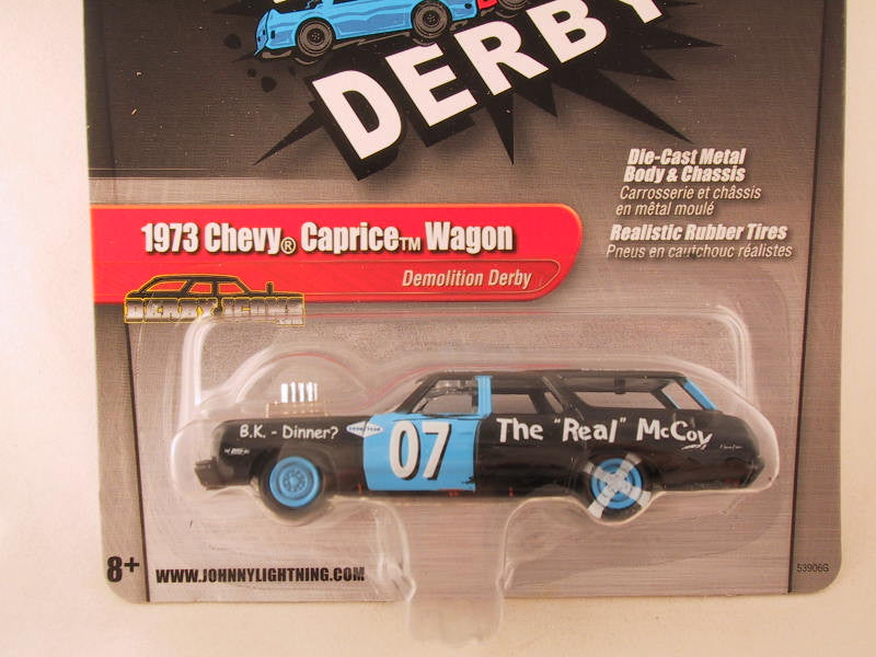 Johnny Lightning 2.0, Release 03, 1973 Chevy Caprice Wagon, Demolition Derby