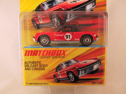 Matchbox Lesney Edition, '71 VW-Porsche 914-6