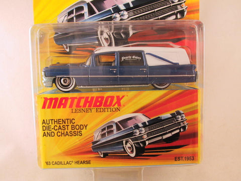 Matchbox Lesney Edition, '63 Cadillac Hearse