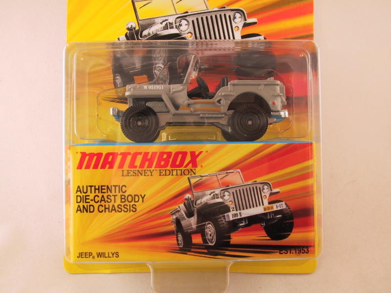 Matchbox Lesney Edition, Jeep Willys