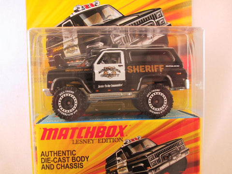 Matchbox Lesney Edition, '89 Chevy Blazer