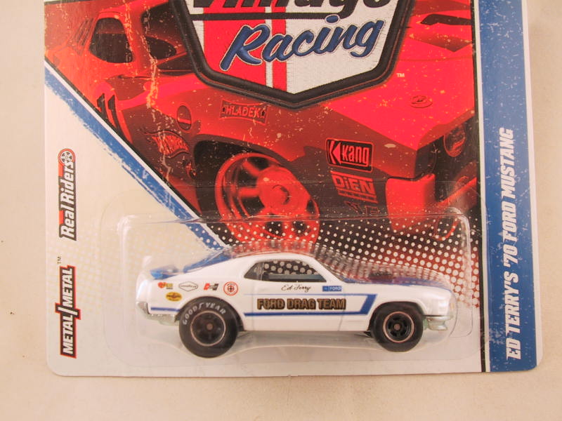 Hot Wheels Vintage Racing, Ed Terry's '70 Ford Mustang