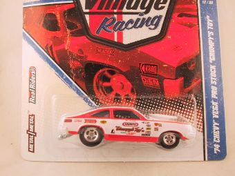 "Hot Wheels Vintage Racing, '74 Chevy Vega Pro Stock ""Grumpy's Toy"""