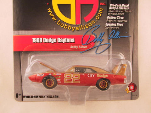 Johnny Lightning 2.0, Release 06, 1969 Dodge Daytona Bobby Allison