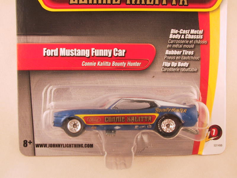 Johnny Lightning 2.0, Release 07, Ford Mustang Funny Car