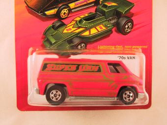 Hot Wheels Hot Ones '70s Van