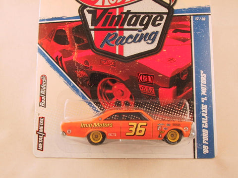 "Hot Wheels Vintage Racing, '65 Galaxie ""I Motors"""