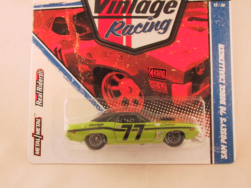 Hot Wheels Vintage Racing, Sam Posey's '70 Dodge Challenger