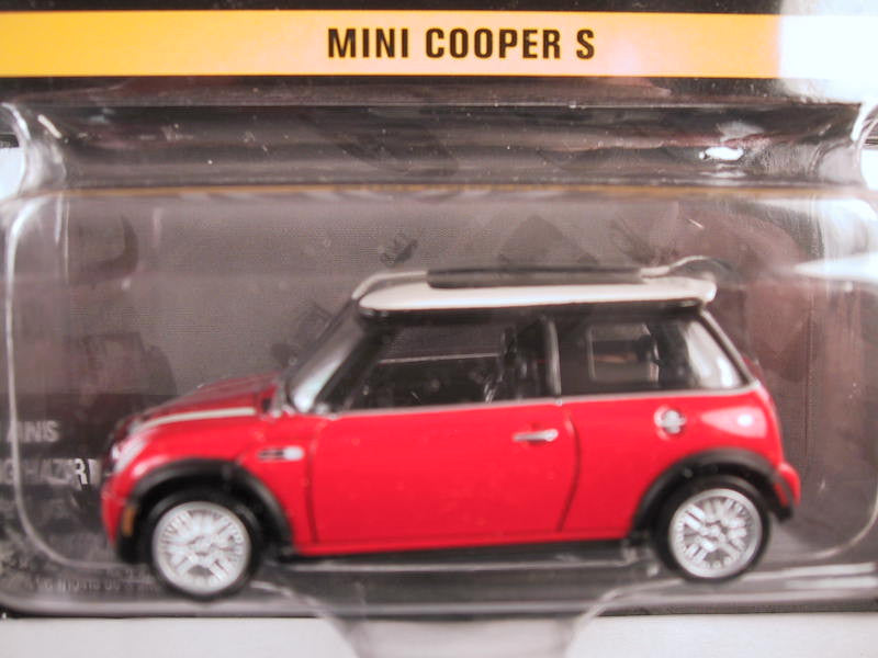 Johnny Lightning Hollywood on Wheels, Release 4, Mini Cooper, Red