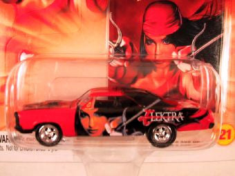 Johnny Lightning Marvel Comic Cars, Release 3, '67 Pontiac GTO, Elektra