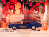 Johnny Lightning Marvel Comic Cars, Release 3, '68 Chevy Chevelle, Peter Parker Spider-Man