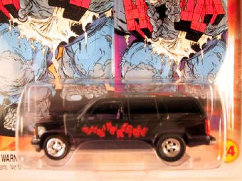 Johnny Lightning Marvel Comic Cars, Release 3, '97 Chevy Tahoe, The Incredible Hulk