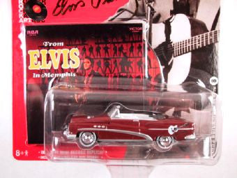 Johnny Lightning Rock Art, Release 1, 1953 Buick Super 8, Elvis Presley